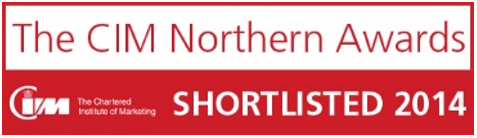 CIM Northern Awards Shortlist Badge Large