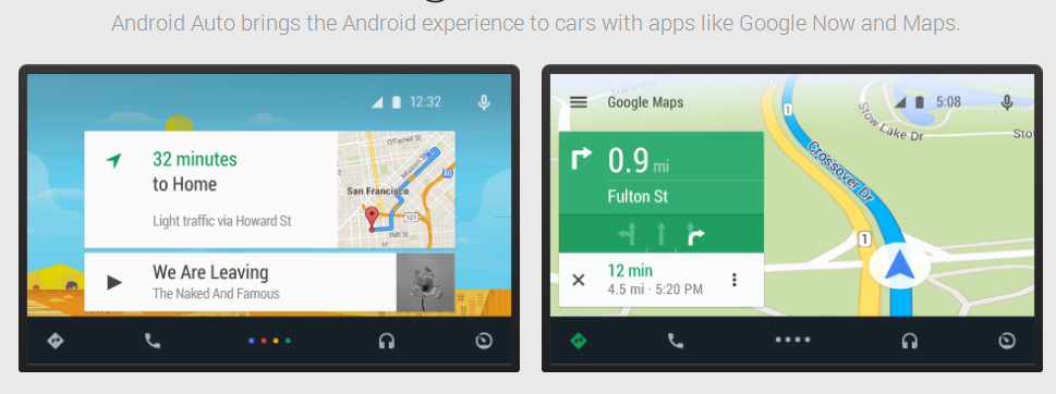 Android Auto Google Maps