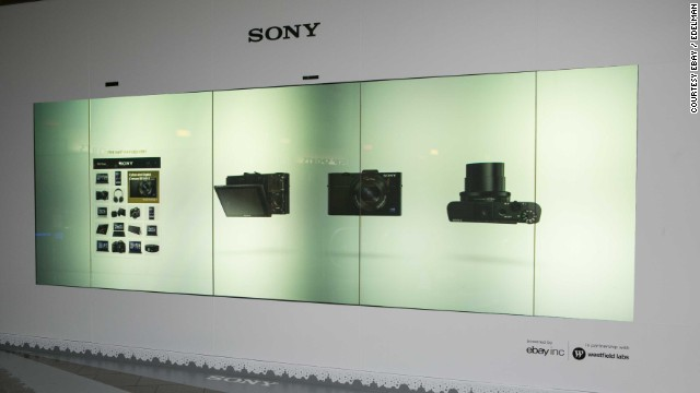 Sony Digital Store Front Endless Aisle