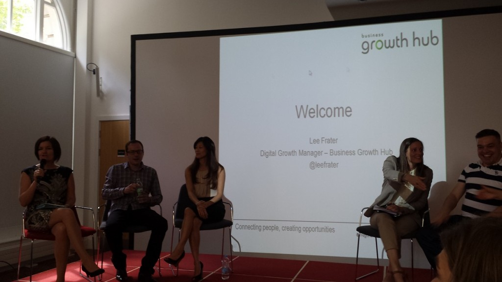 Panel Discussion at Get Dgiital