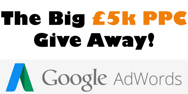 The Big 5K PPC Give Away PNG
