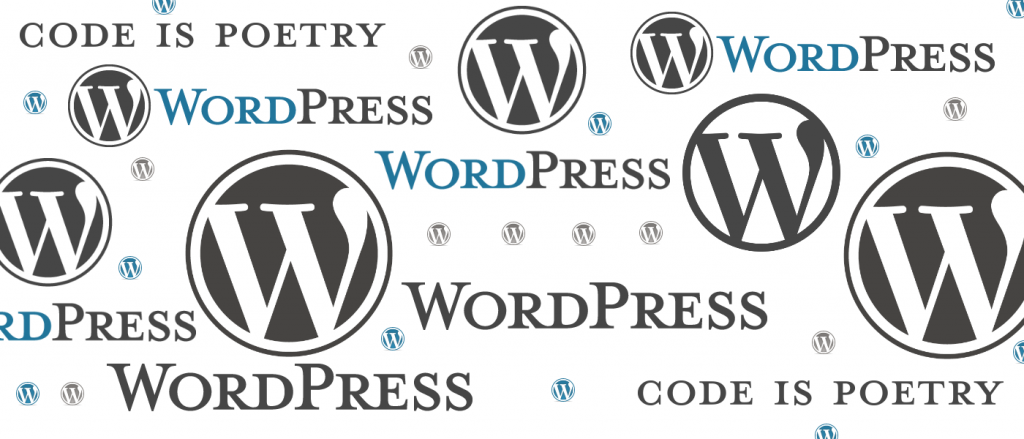WordPress Logos Page Header