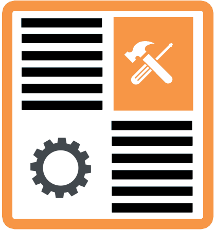 WordPress Maintenance and Security Icon