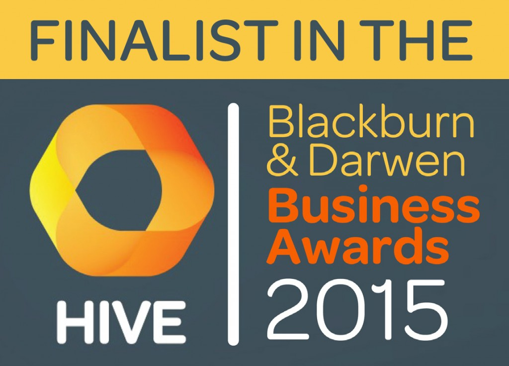 Hive awards finalist logo - Young Entrepreneur Award