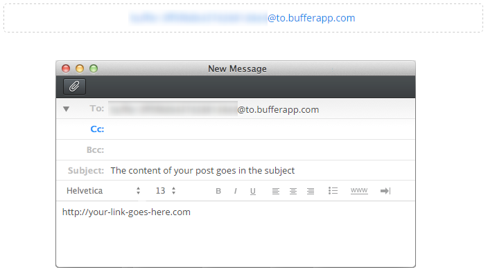 Buffer Secret Email Address
