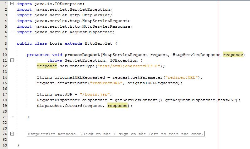 Controller Java Servlet