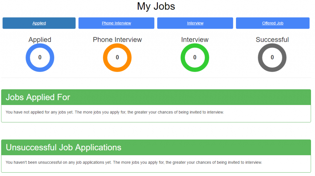 Job Hunter Application Tracking