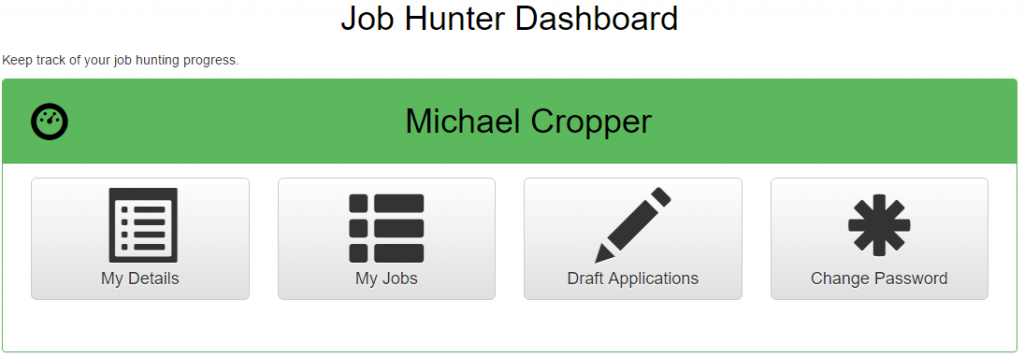 Job Hunter Dashboard