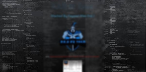 Website Hacked Typical Trophy Message